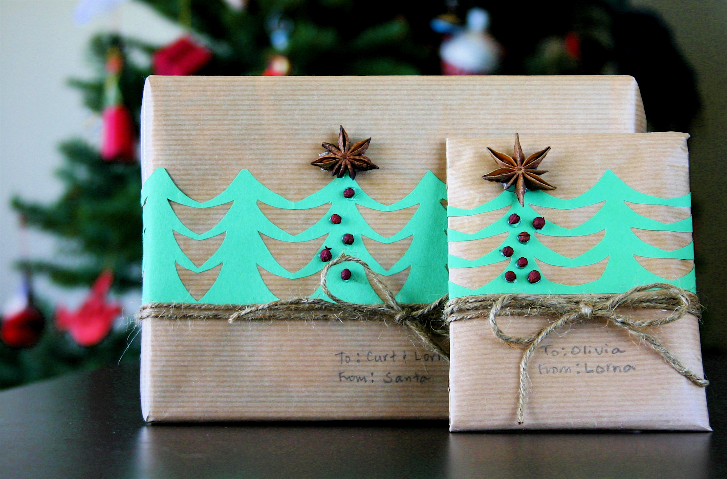 Top Brown Paper Packages Tied Up With String | KNITS FOR LIFE RL56
