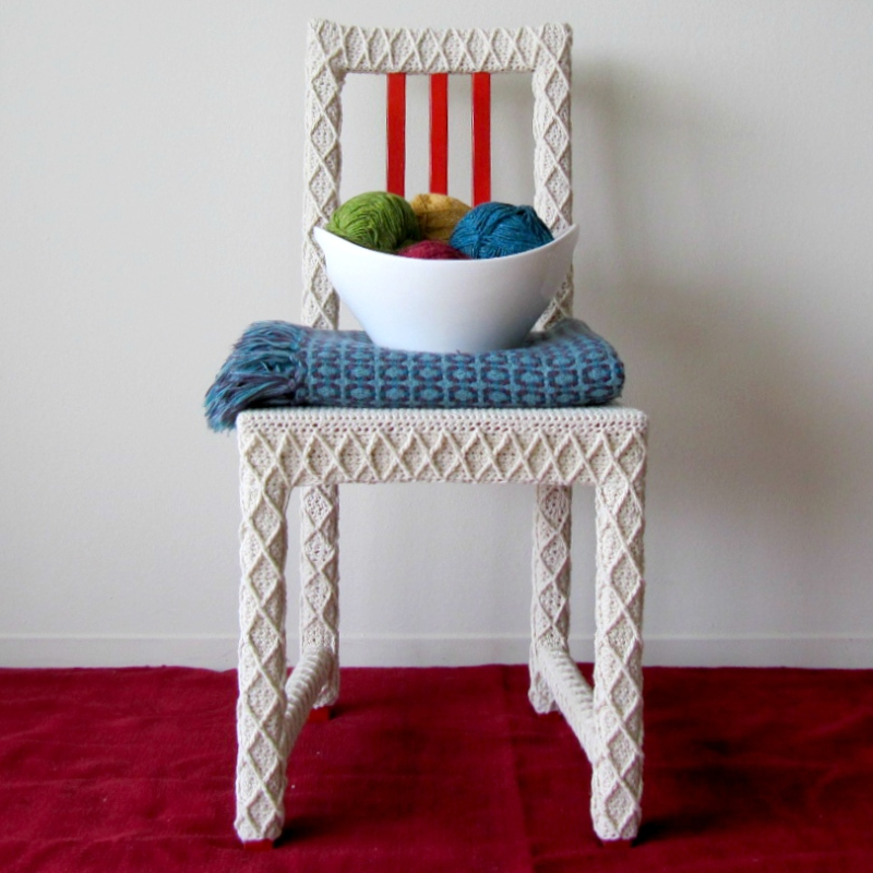 Yarnbomb Your Own Furniture