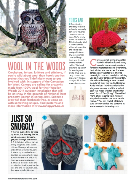 Simply Crochet Magazine Issue 13
