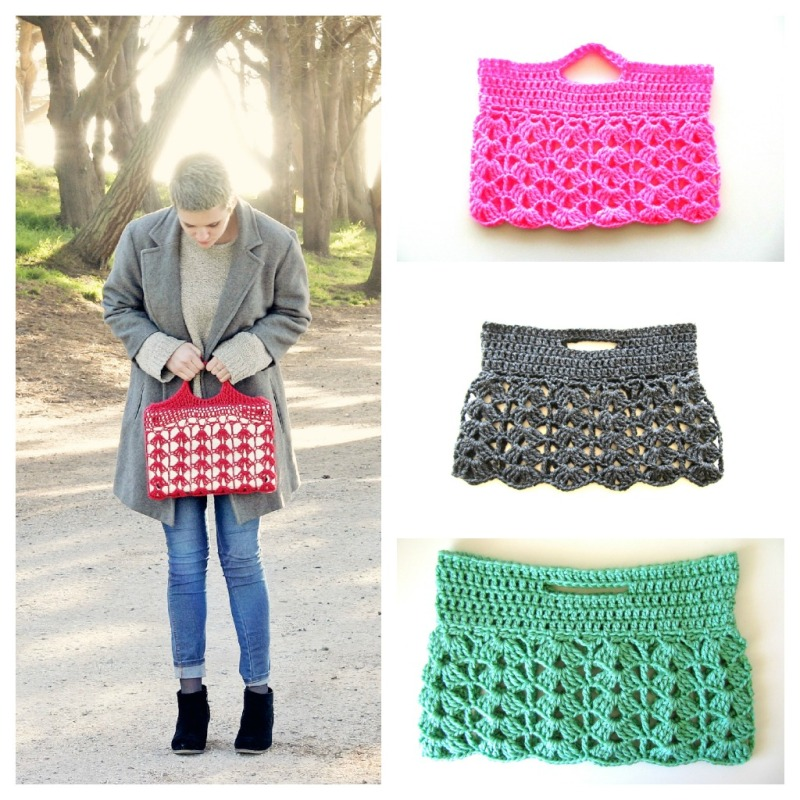 New Crochet Lace Laptop Bags