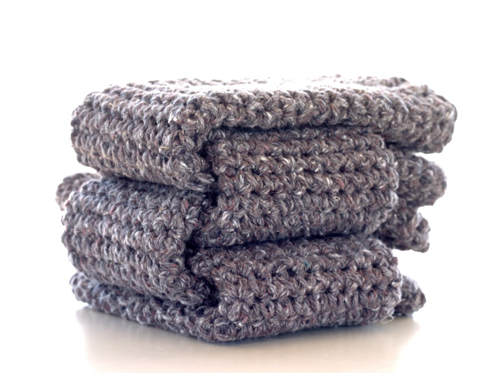 4-Pack of Custom Table Socks, in 100% New Recycled Yarn, by Knits for Life, $25.