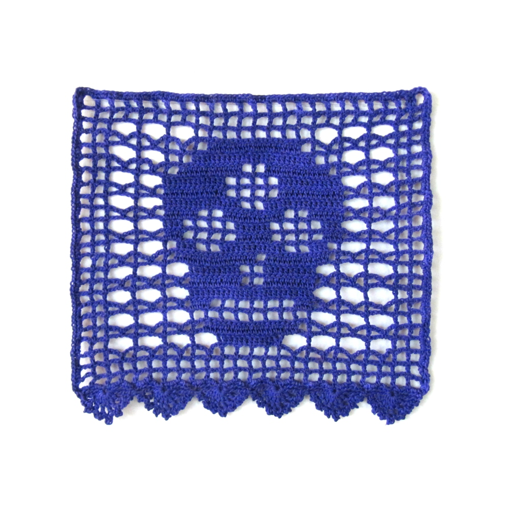 Crafts Knits For Life Page 2 Crochet Diagram Patterns Easy Filet Ideas Pattern Day Of The Dead Bunting