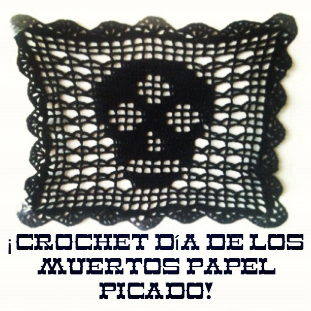 Crochet Day Of The Dead Bunting Knits For Life