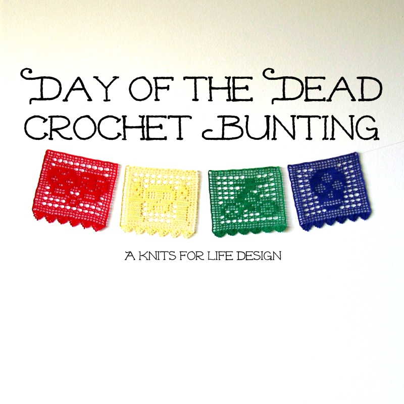 Crochet Day of the Dead Bunting