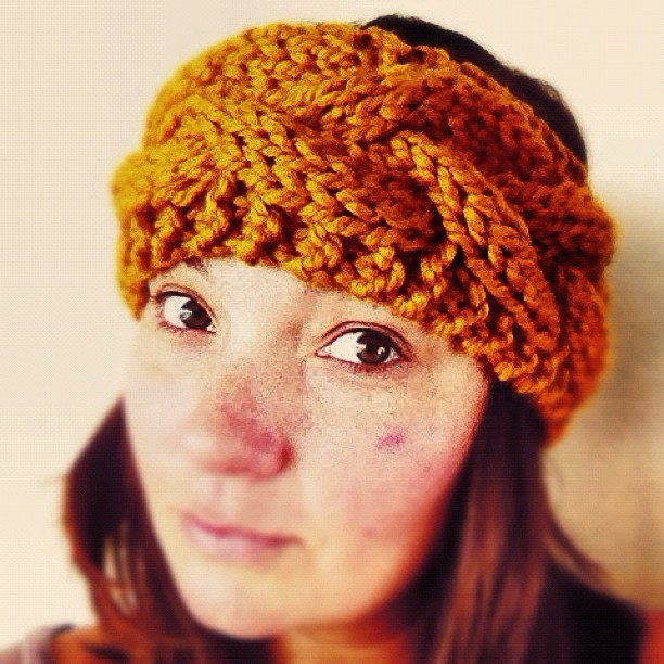 Knitting Pattern Central Headbands : Headband Online Knitting Patterns Knitted Ear Warmers Free Knit