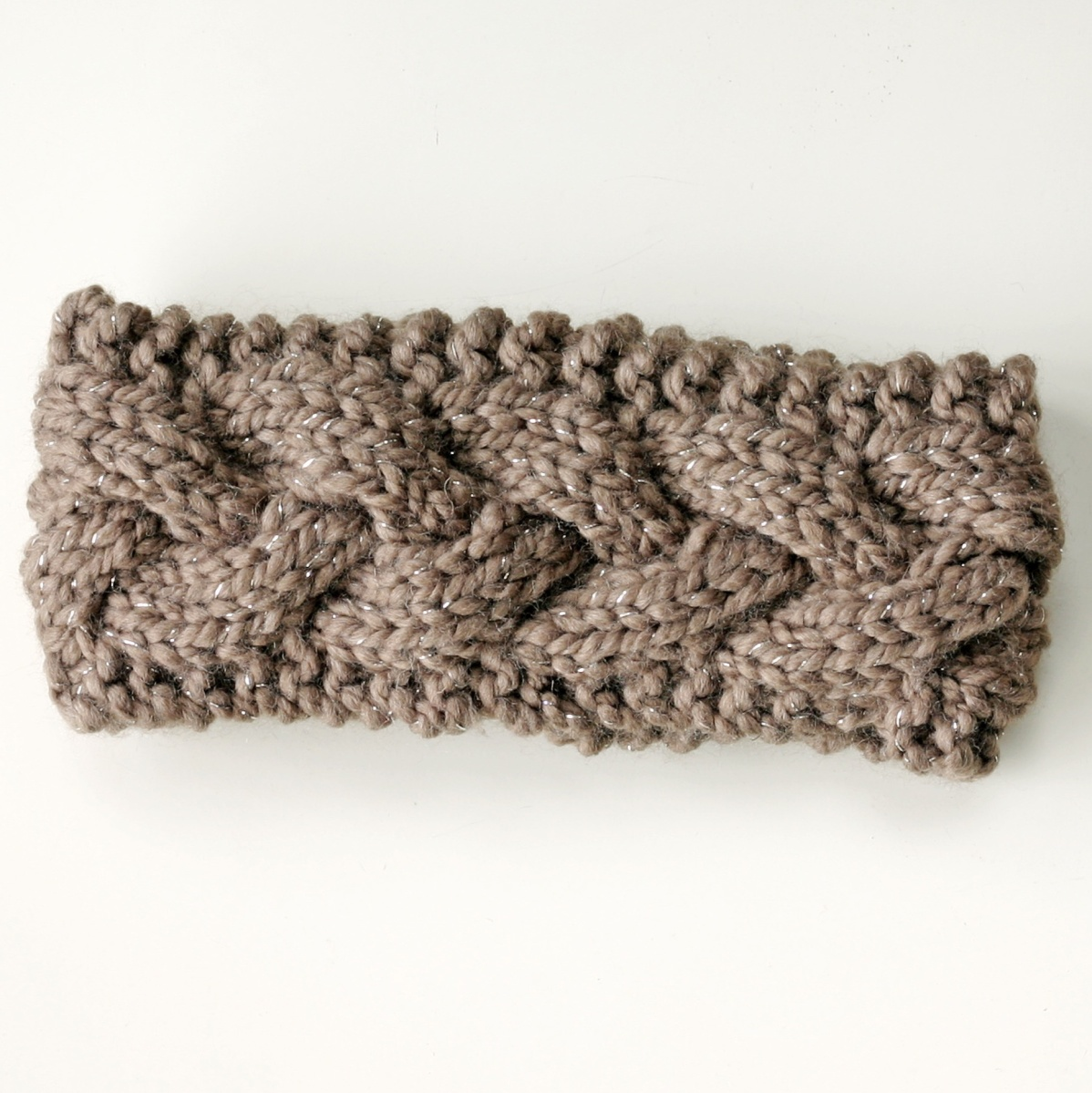 chunky knit headband ear warmer Knits for Life