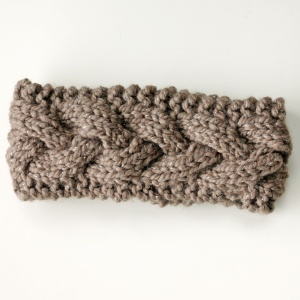 chunky knit headband ear warmer