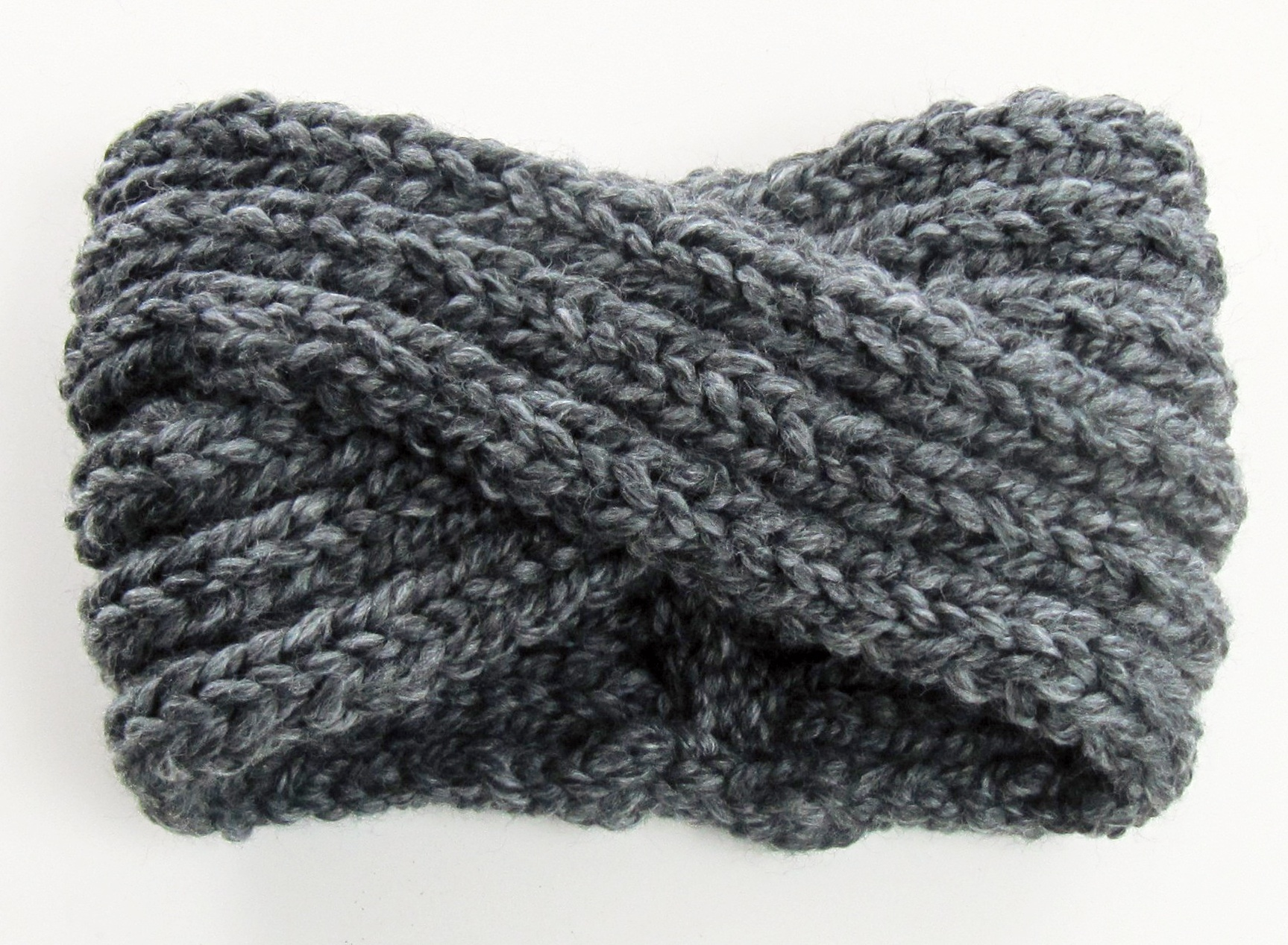 Free Crochet Pattern For Turban Headband : chunky knit turban headband ear warmer KNITS FOR LIFE