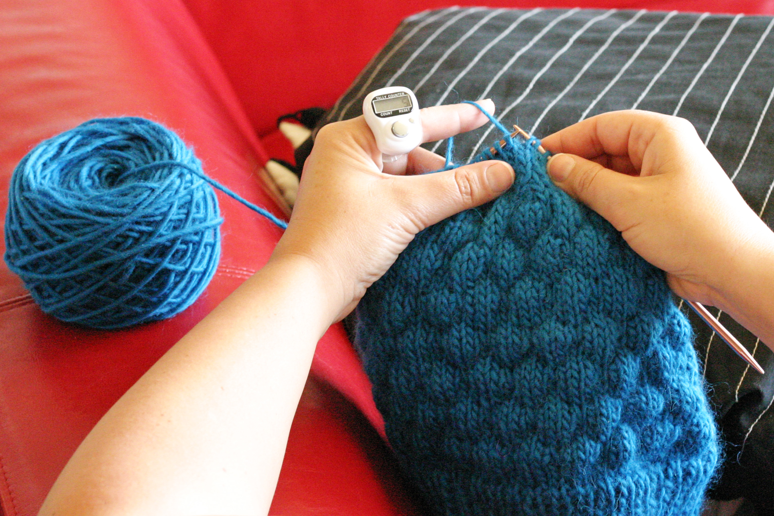 Digital Stitch Counter Ring Knits For Life