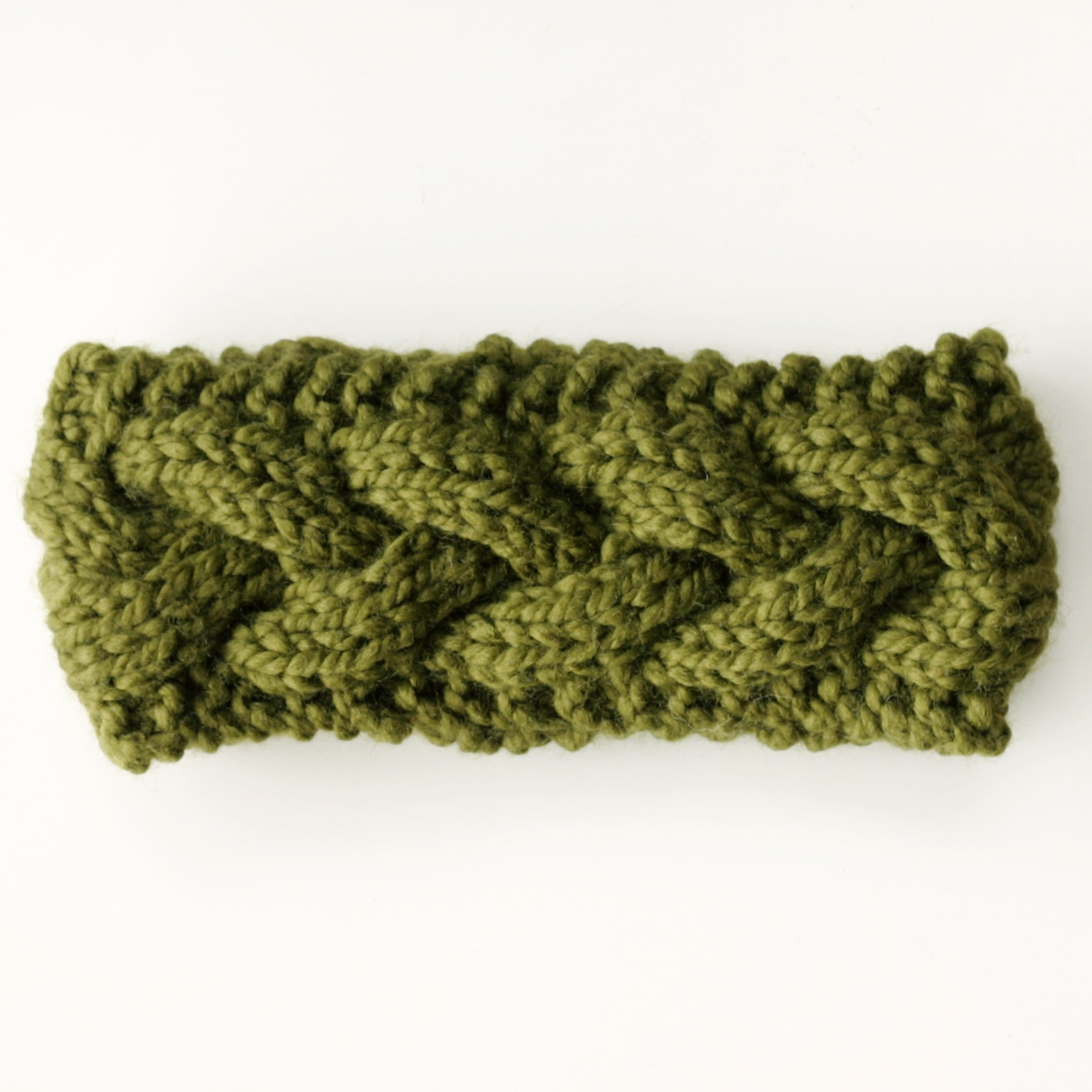 Chunky Knit Ear Warmer Headband | KNITS FOR LIFE
