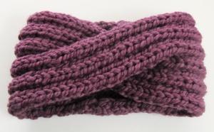 chunky knit turban headband ear warmer