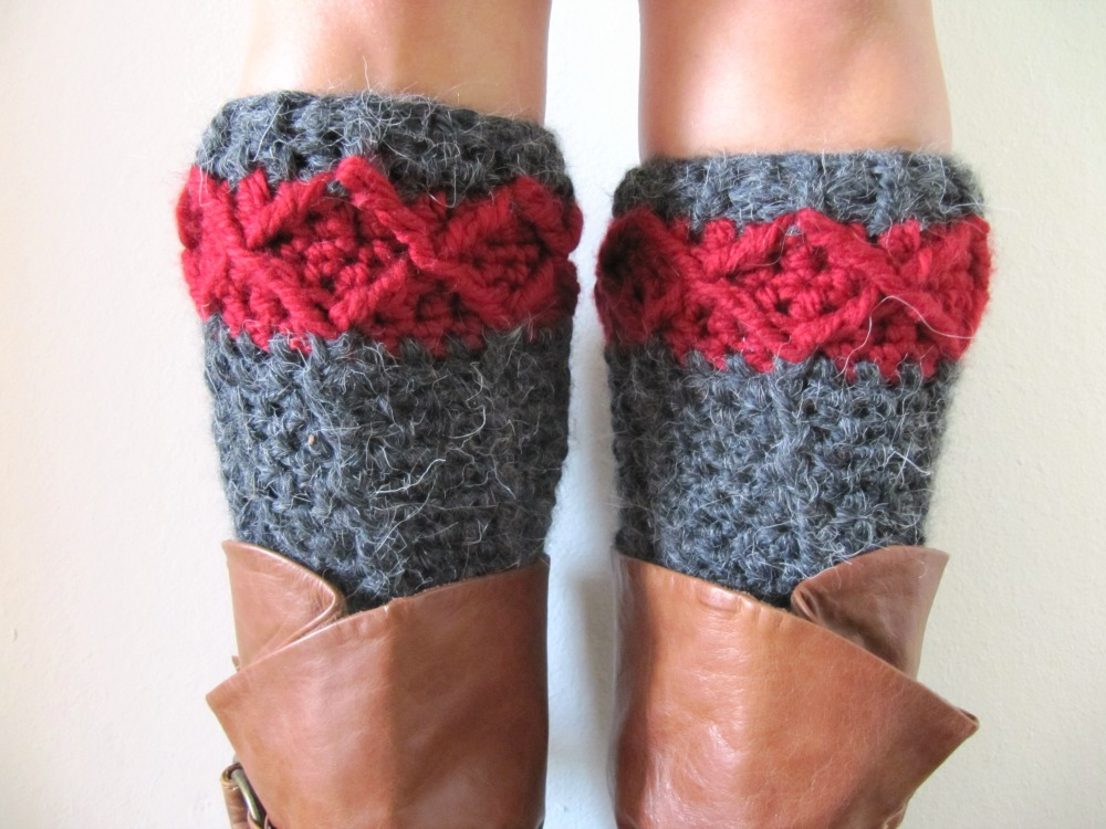 Free Leg Warmer Crochet Pattern Knits For Life