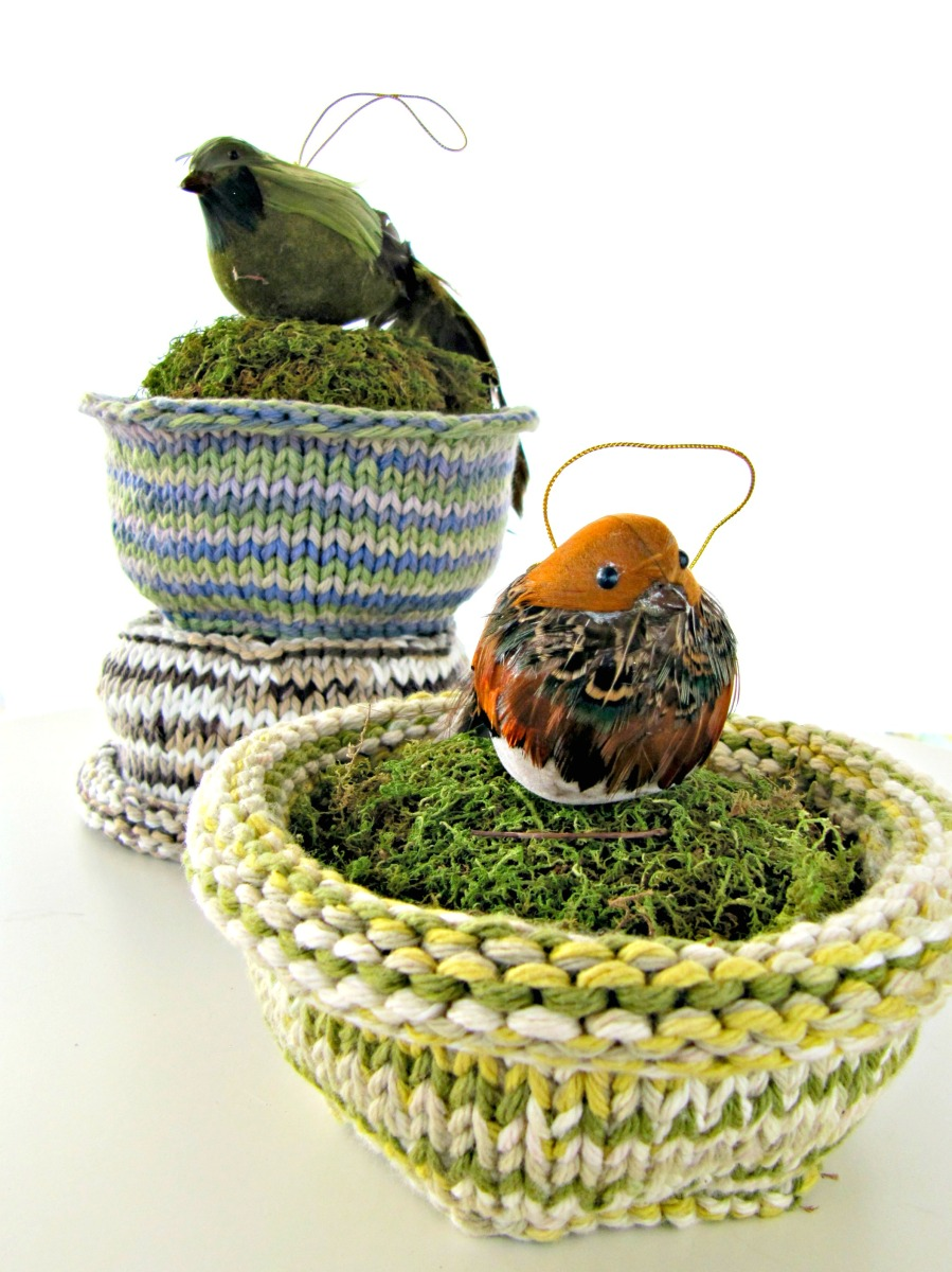 Wwjd an easter project jesus would do knits for life for Baby bird nest craft
