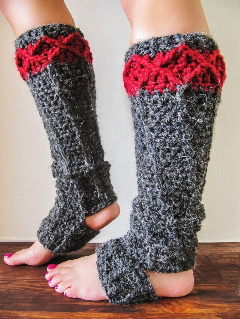 Crochet Free Patterns For Leg Warmers : Free Leg Warmer Crochet Pattern KNITS FOR LIFE
