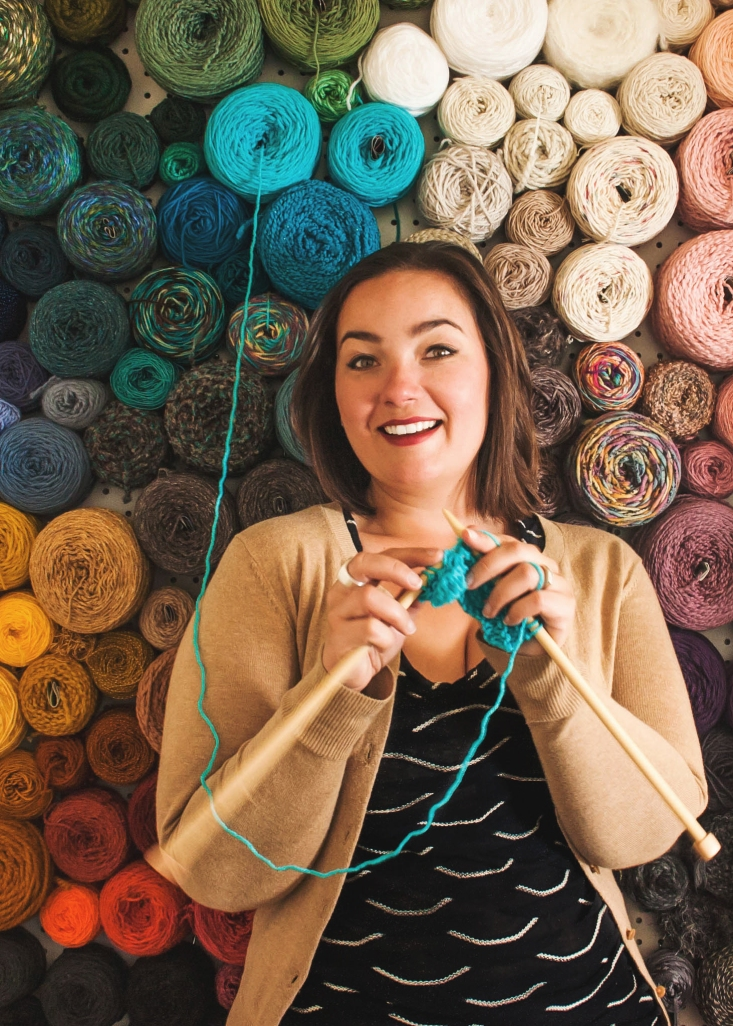 The worlds best yarn storage idea KNITS FOR LIFE