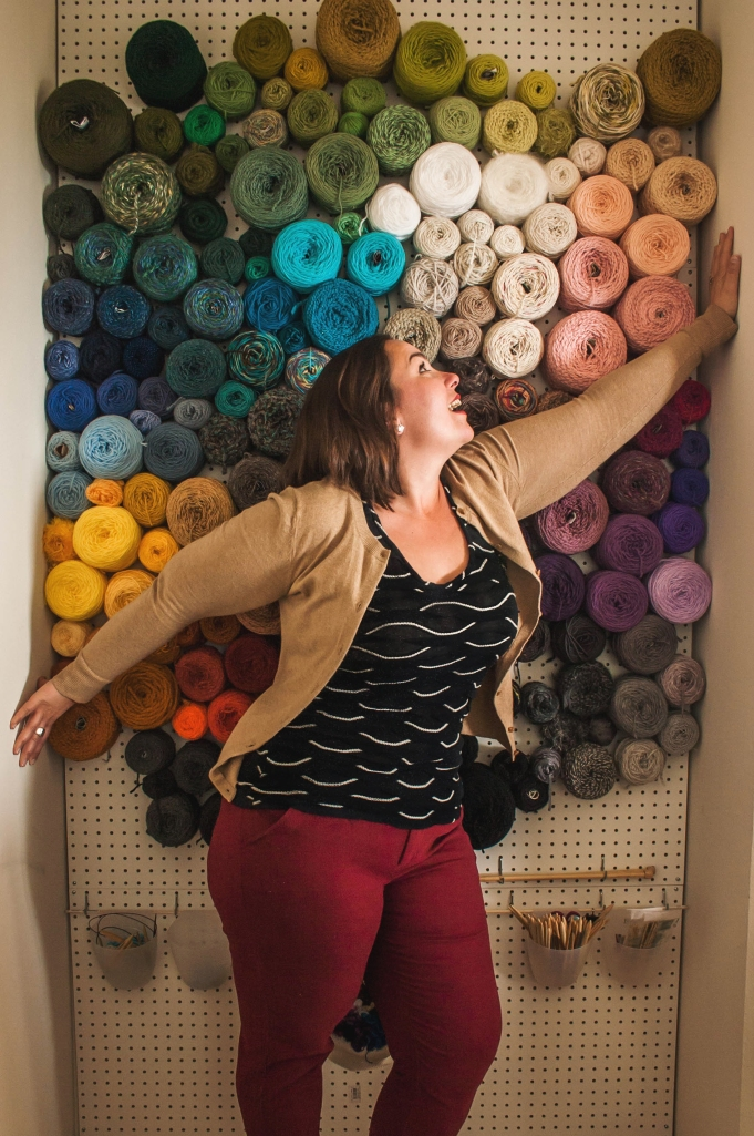 the world's best yarn storage idea | knits for life
