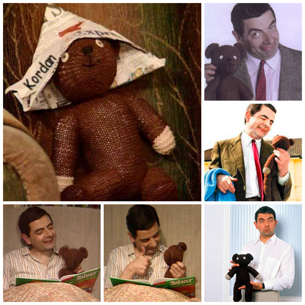 mr bean teddy bear