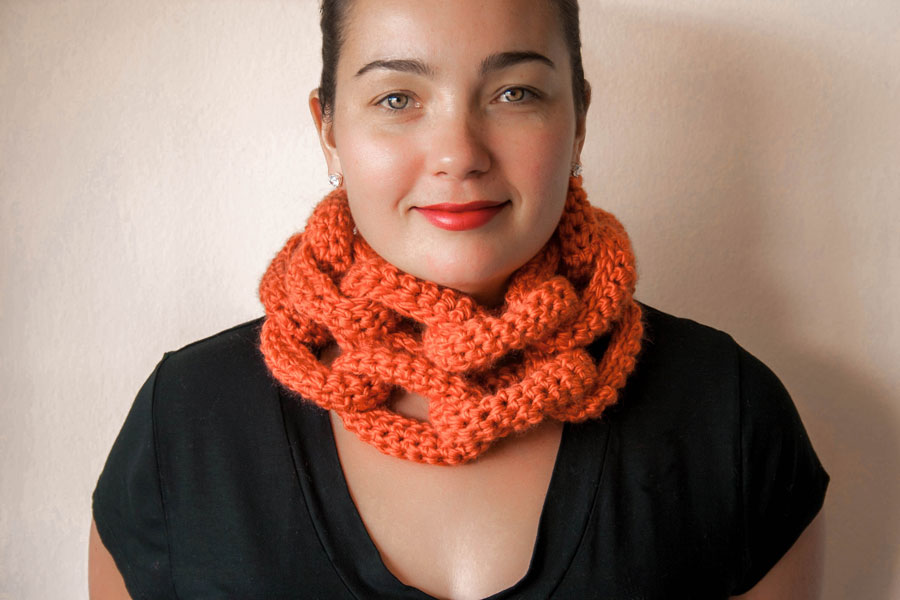 Chain Link Scarf Knits For Life