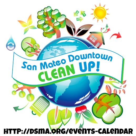 downtown san mateo spring clean up