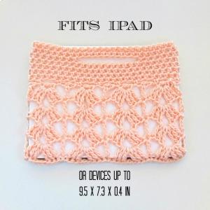 Crochet Lace iPad Sleeve Sizes