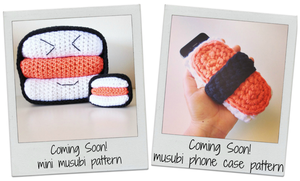 Spam Musubi Crochet Patterns