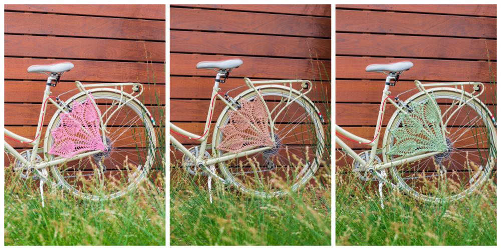 Bicycle Skirt Guard Crochet Pattern