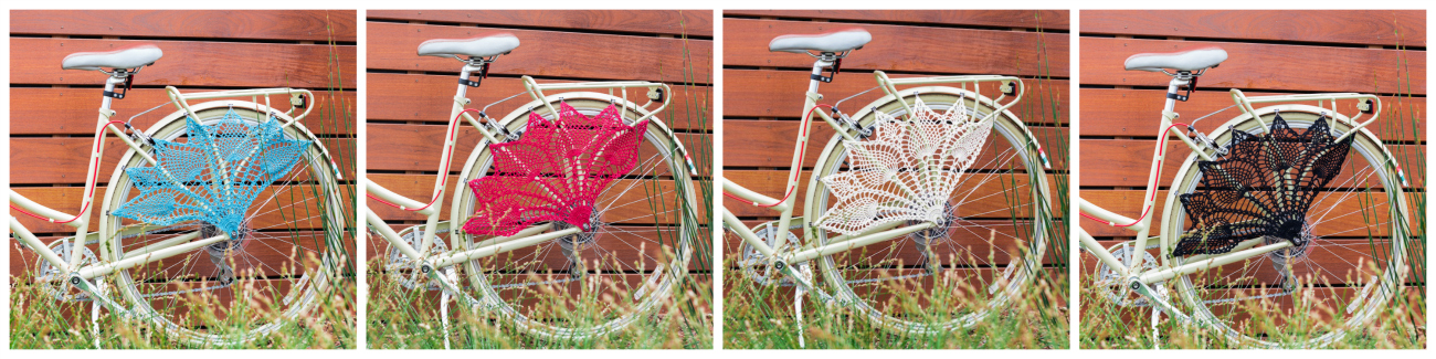 New Crochet Pattern Bicycle Skirt Guard Knits For Life