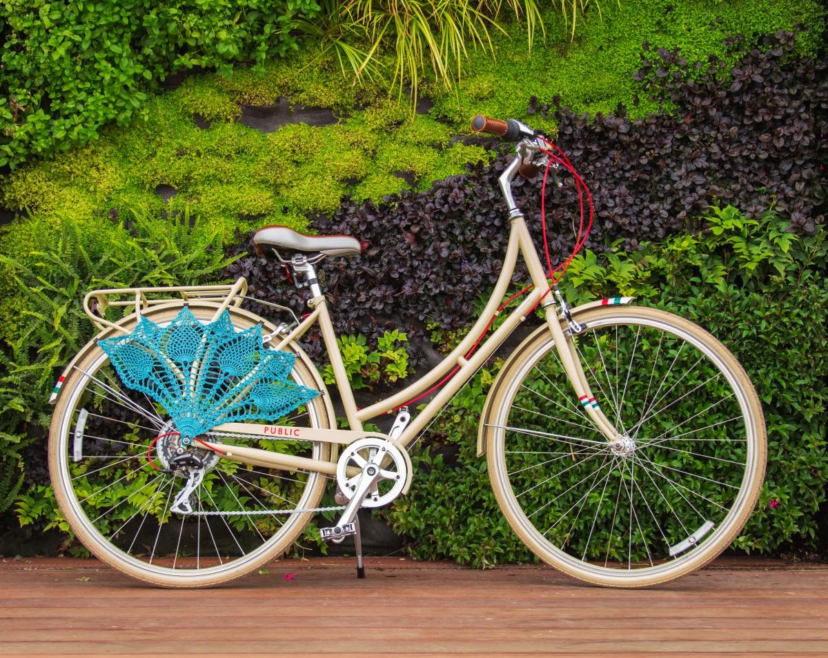 Подарочный велосипед своими руками