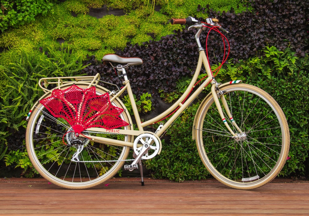 Crochet Bicycle Skirt Guard
