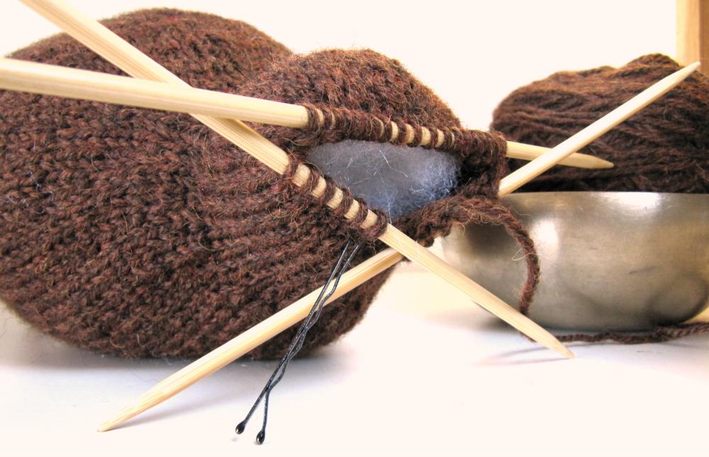 Knit Beaver Pattern Head
