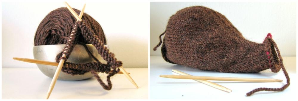 Knit Beaver Pattern Body