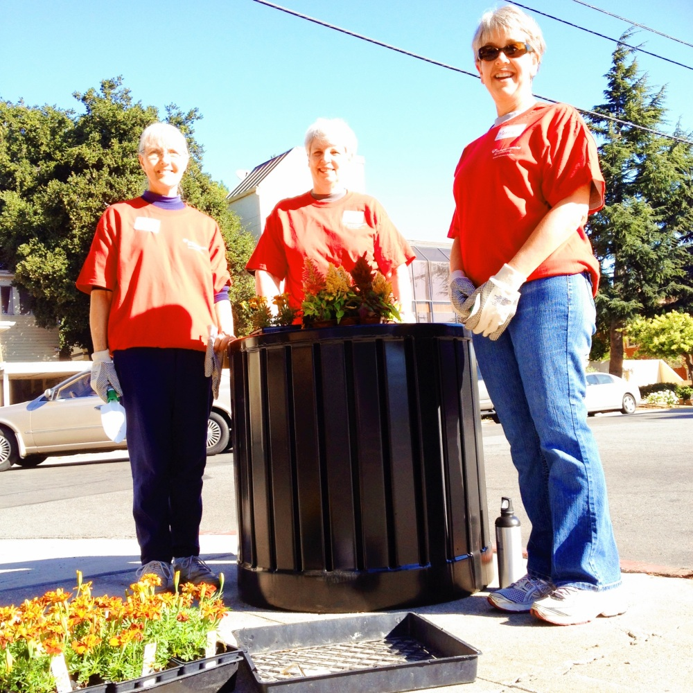 Downtown San Mateo Association clean up
