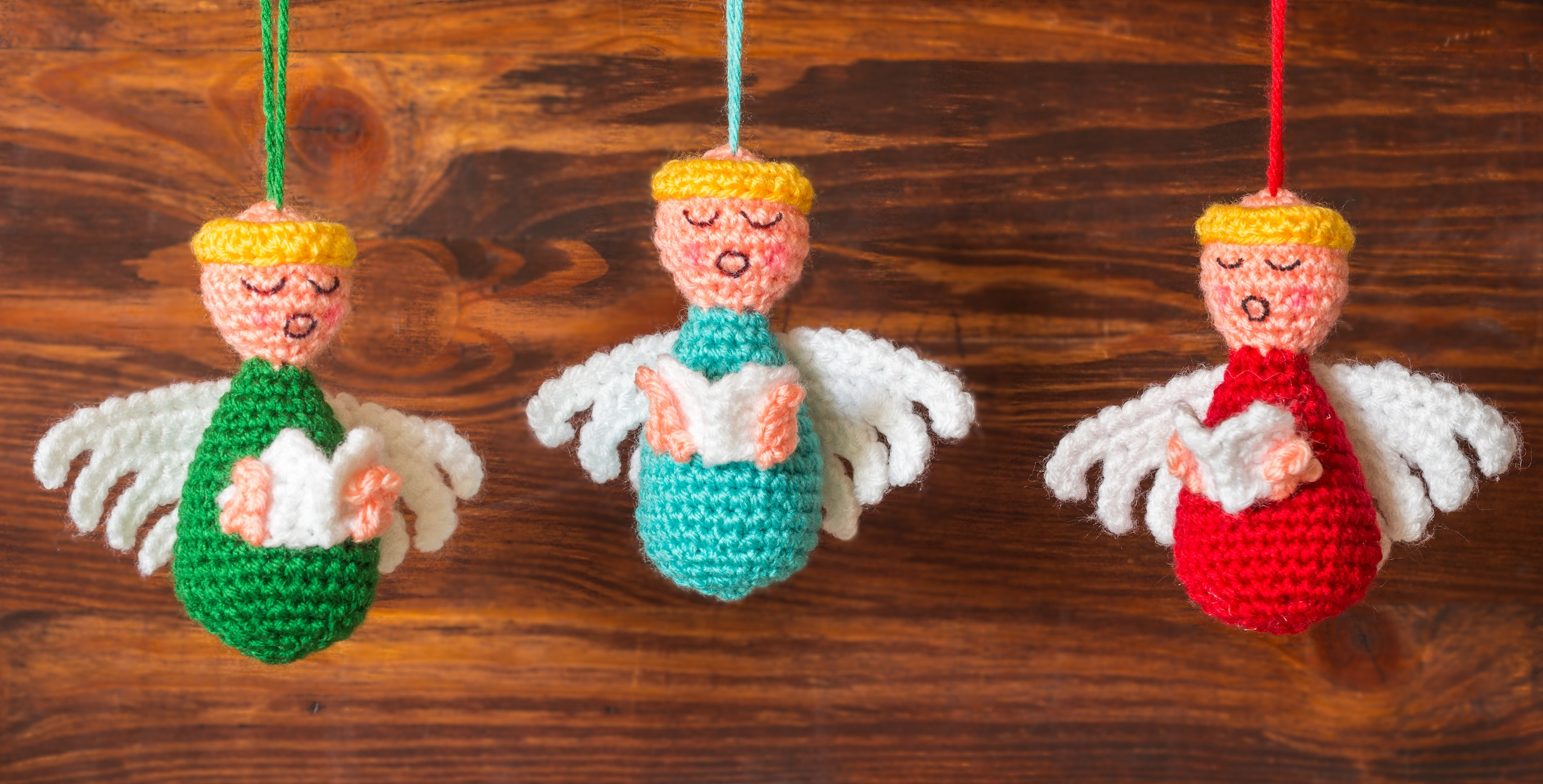 Crochet Ornaments : Crochet Angel Ornament Pattern Ornaments Crochet Pattern