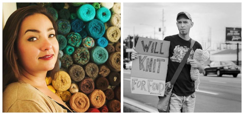 custom knit mr bean bear interview