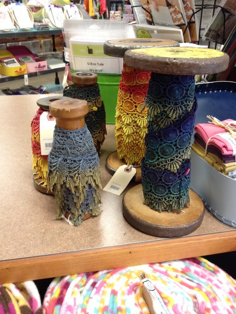 Ribbon Spools at Maker's Mercantile