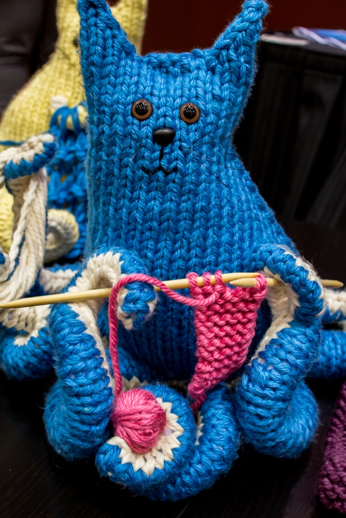 Giant Octopus knitting pattern