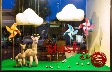 Knit Window Display