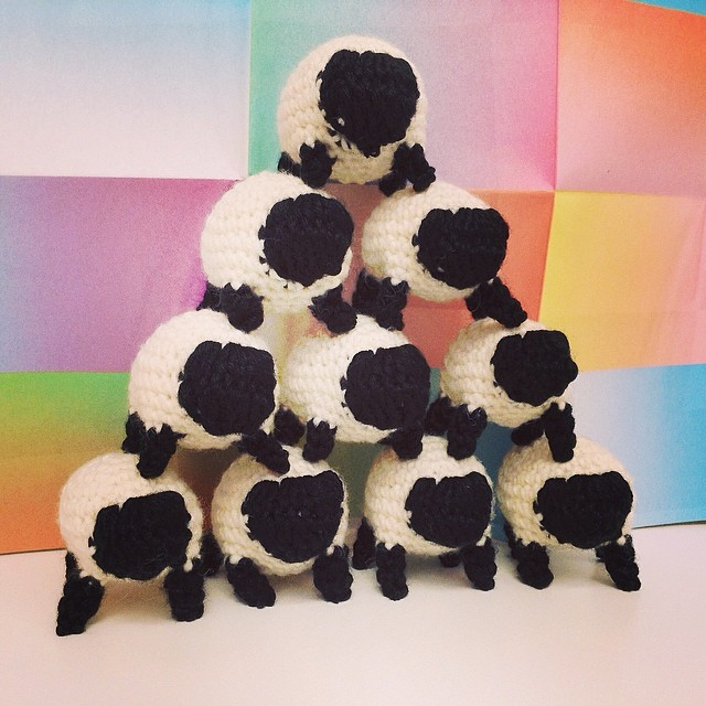 Miniature Sheep Crochet Pattern