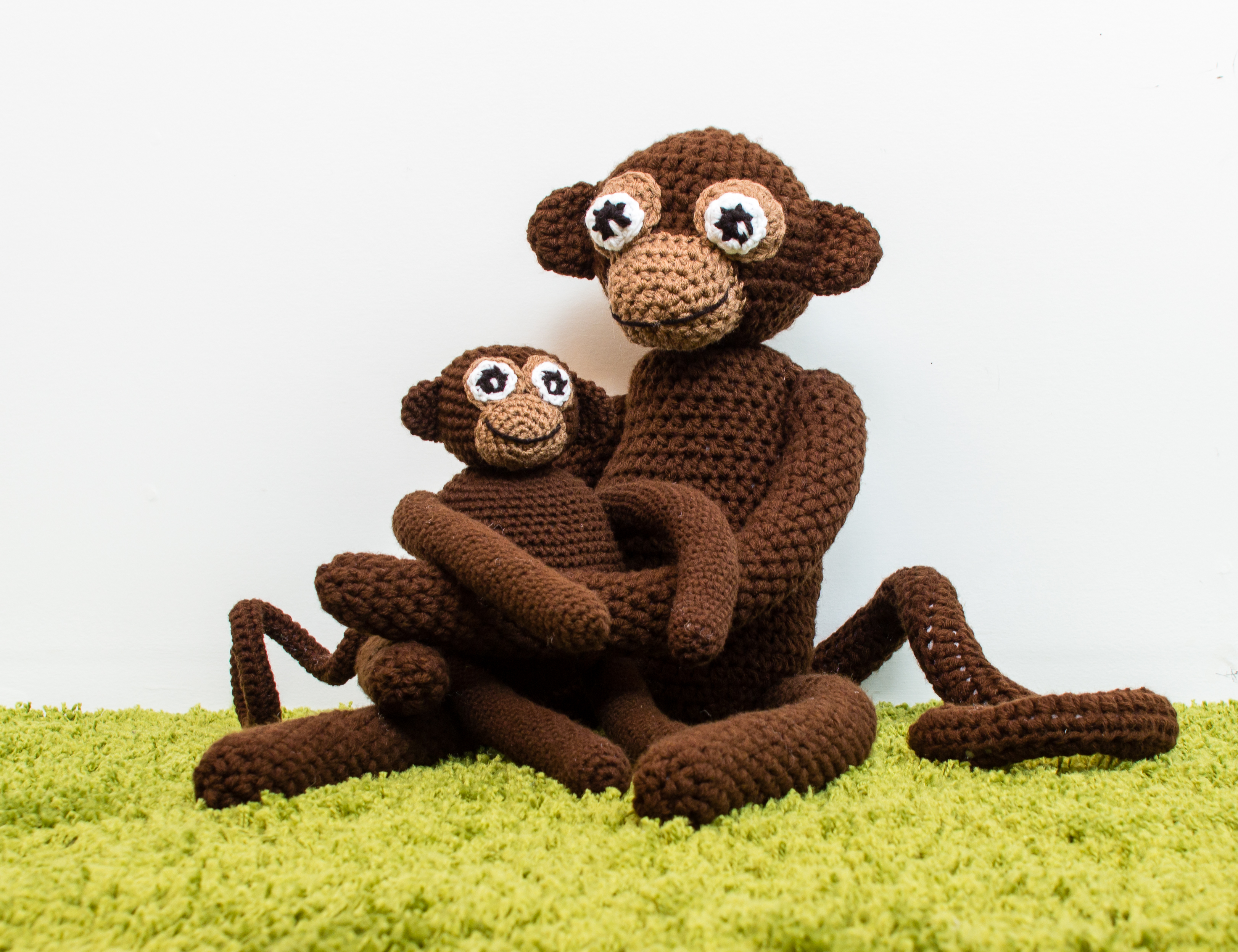 Amigurumi Monkey Pattern Free : New crochet pattern monkey business knits for life