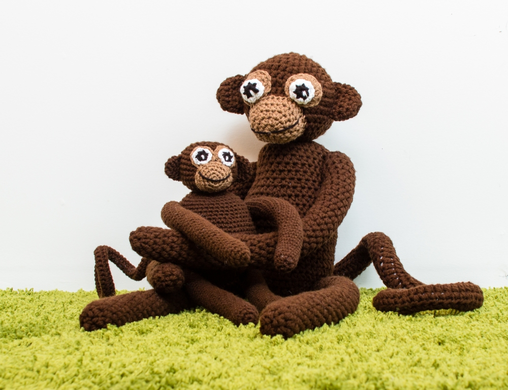 Monkey Business Crochet Pattern HR2