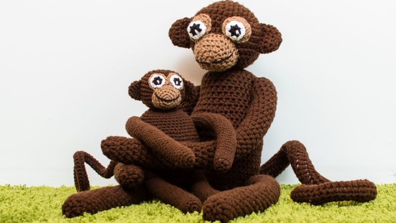 New Crochet Pattern: Monkey Business
