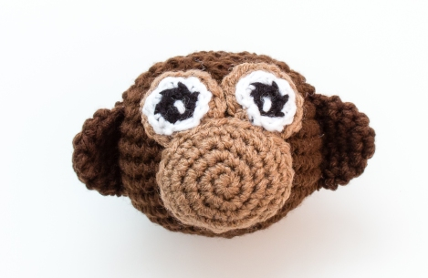 Monkey Business Crochet Pattern HR4