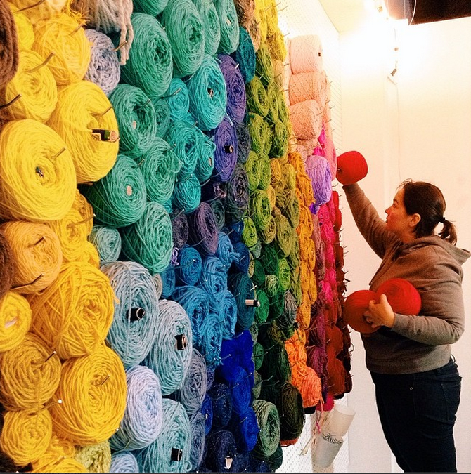 Photo tour of our new fiber art studio