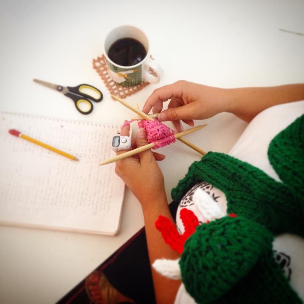 Knit Snake Yarnbomb Knitting Pattern