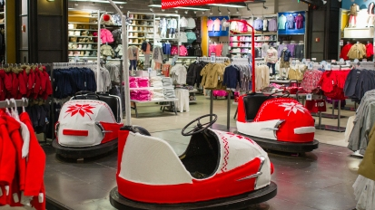 Old Navy Style Bumper Cars