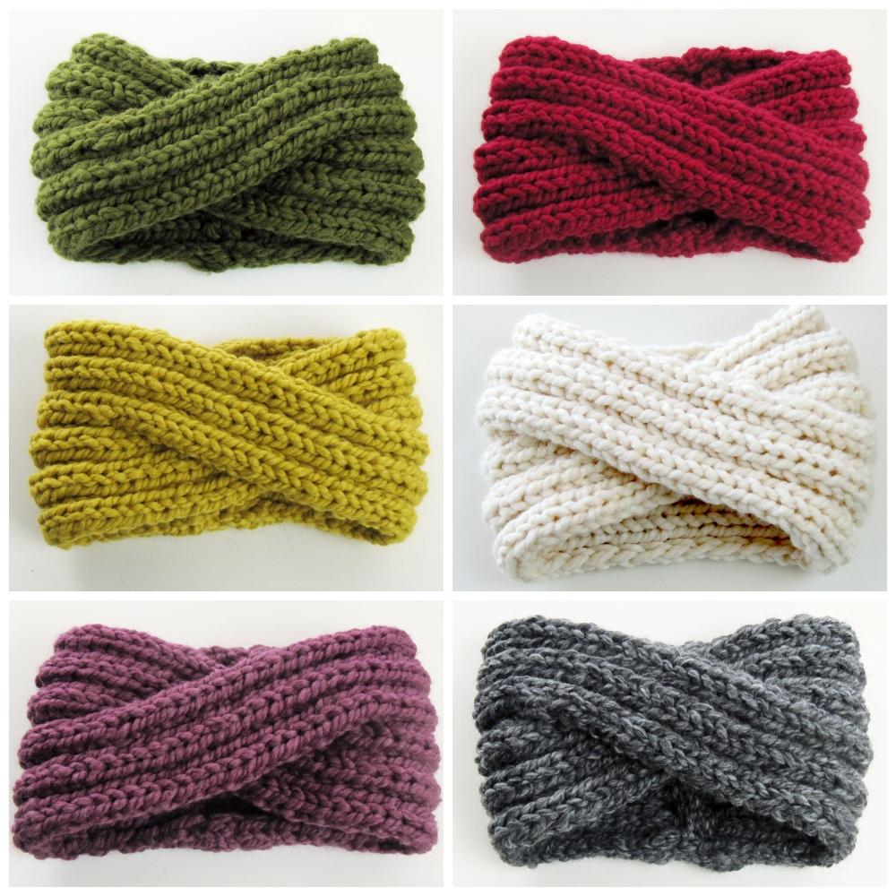 Chunky Turban Headband colors