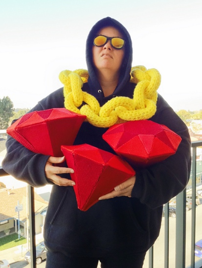 Knit Rubies