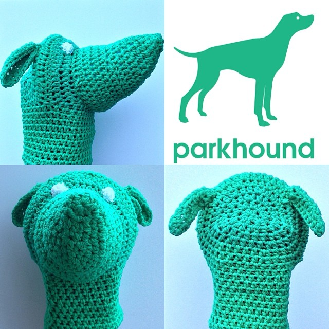 parkhound logo collage