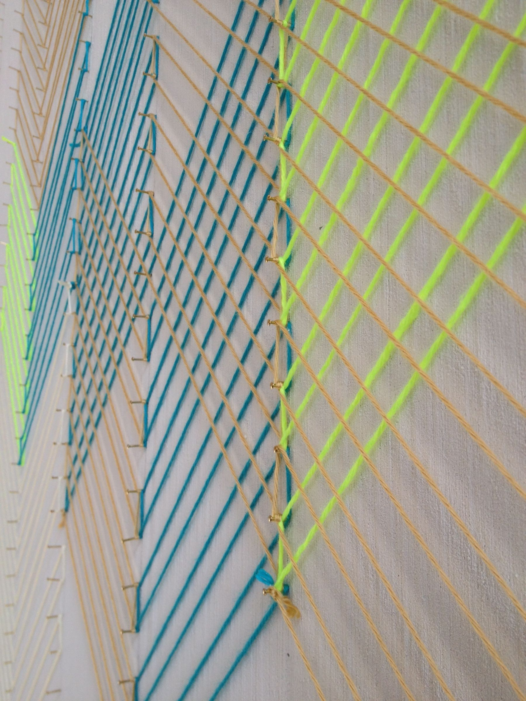 String Art Wall | KNITS FOR LIFE