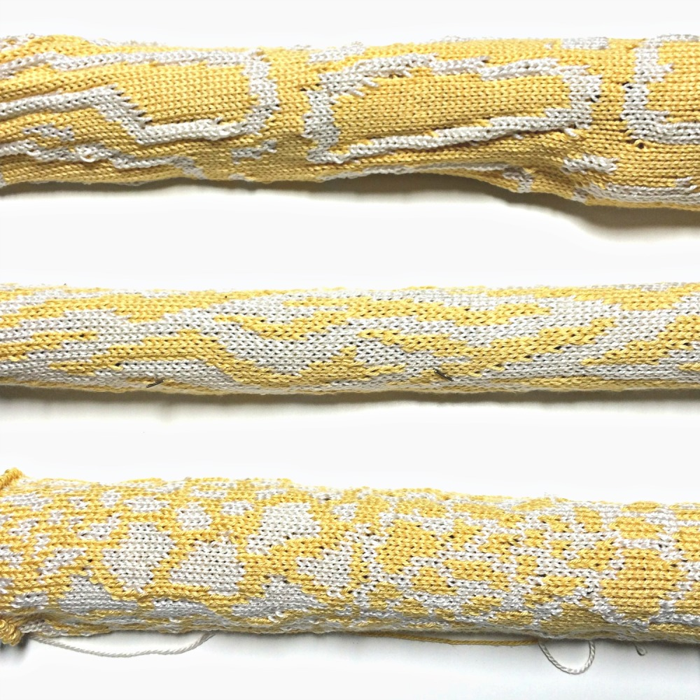 Machine Knit Snake Skin Sketches